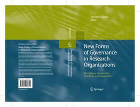 Jansen | New Forms of Governance in Research Organizations | Buch | sack.de
