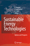 Hanjalic / van de Krol / Lekic    Sustainable Energy Technologies, w. CD-ROM   Buch    Sack Fachmedien