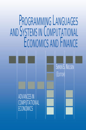 Nielsen | Programming Languages and Systems in Computational Economics and Finance | Buch | sack.de