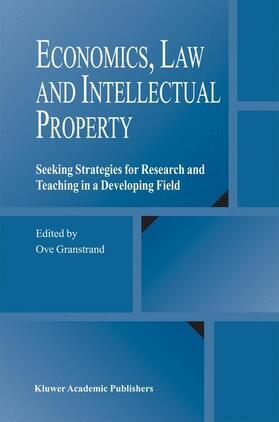 Granstrand | Economics, Law and Intellectual Property | Buch | sack.de
