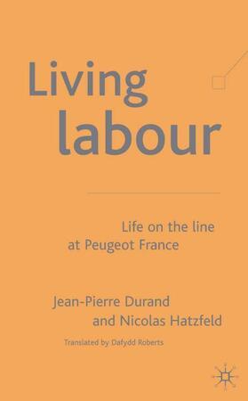 Hatzfeld / Durand   Living Labour   Buch   sack.de