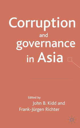 Kidd / Richter | Corruption and governance in Asia | Buch | sack.de