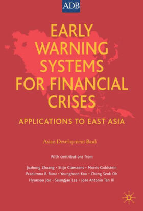 Bank   Early Warning Systems for Financial Crises   Buch   sack.de