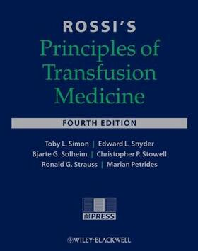 Simon / Snyder / Stowell | Rossi's Principles of Transfusion Medicine | Buch | sack.de