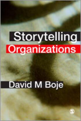 Boje | Storytelling Organizations | Buch | sack.de