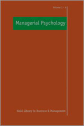 Altman / Bournois / Boje | Managerial Psychology | Buch | sack.de