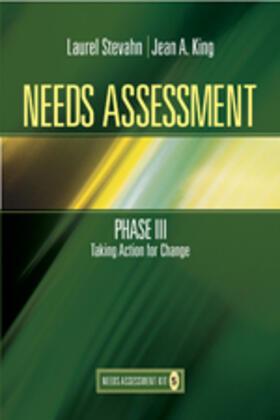 Stevahn / King   Needs Assessment Phase III   Buch   sack.de
