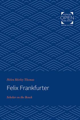 Thomas | Felix Frankfurter | Buch | sack.de