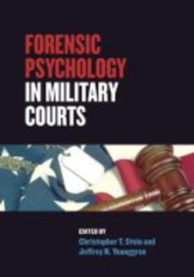 Forensic Psychology in Military Courts | Buch | sack.de