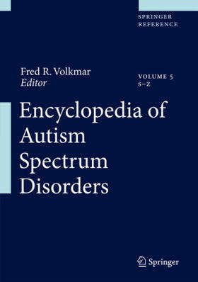 Volkmar | Encyclopedia of Autism Spectrum Disorders, 5 Pts. | Buch | sack.de