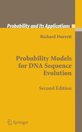 Durrett | Probability Models for DNA Sequence Evolution | Buch | sack.de
