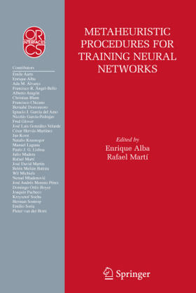 Alba / Martí | Metaheuristic Procedures for Training Neural Networks | Buch | sack.de