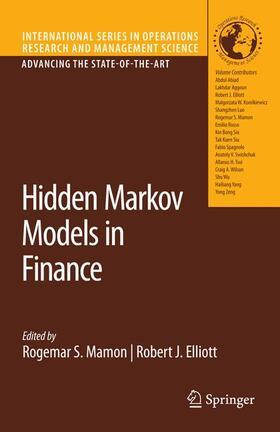 Elliott / Mamon   Hidden Markov Models in Finance   Buch   sack.de