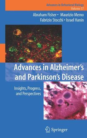 Fisher / Memo / Stocchi | Advances in Alzheimer's and Parkinson's Disease | Buch | sack.de