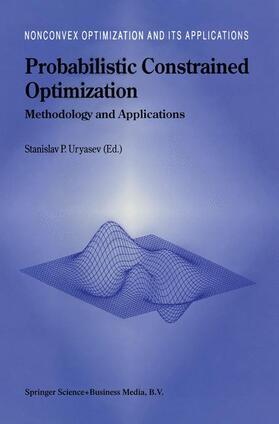 Uryasev | Probabilistic Constrained Optimization | Buch | sack.de