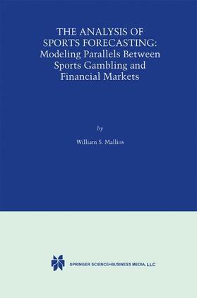 Mallios | The Analysis of Sports Forecasting | Buch | sack.de