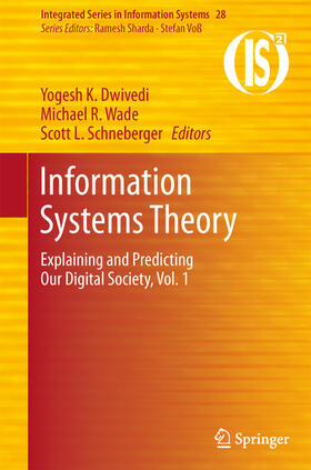 Dwivedi / Wade / Schneberger | Information Systems Theory | Buch