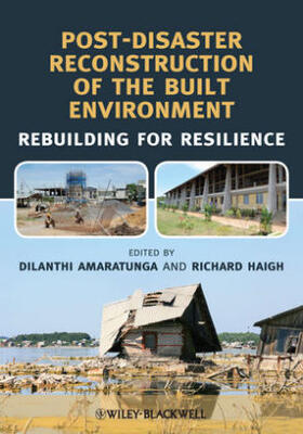 Amaratunga / Haigh | Post-Disaster Reconstruction of the Built Environment | Buch | sack.de