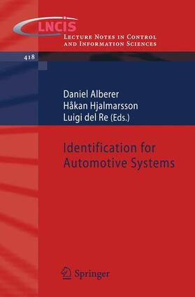 Alberer / Hjalmarsson / del Re | Identification for Automotive Systems | Buch | Sack Fachmedien