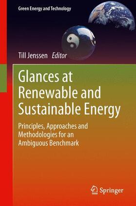 Jenssen   Glances at Renewable and Sustainable Energy   Buch   sack.de