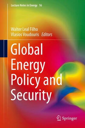 Voudouris / Leal Filho | Global Energy Policy and Security | Buch | sack.de