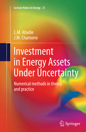 Abadie / Chamorro | Investment in Energy Assets Under Uncertainty | Buch | sack.de