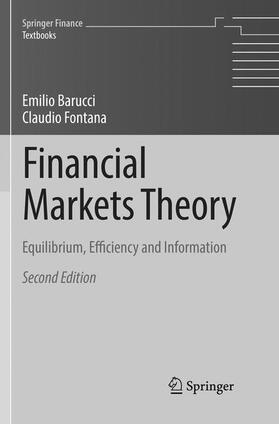 Barucci / Fontana | Financial Markets Theory | Buch | sack.de