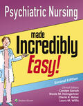 Lippincott Williams & Wilkins |  Psychiatric Nursing Made Incredibly Easy! | Buch |  Sack Fachmedien