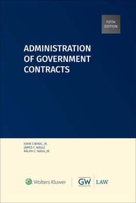 Nagle / Nash   Administration of Government Contracts   Buch   sack.de