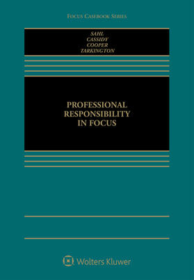 Sahl / Cassidy / Cooper | Professional Responsibility in Focus | Buch | sack.de