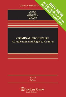 Allen / Stuntz / Hoffmann   Criminal Procedure   Loseblattwerk   sack.de