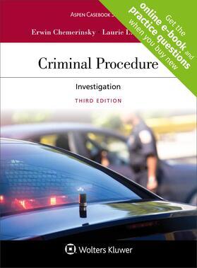 Chemerinsky / Levenson | Criminal Procedure | Loseblattwerk | sack.de