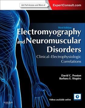 Preston / Shapiro   Electromyography and Neuromuscular Disorders   Buch   sack.de