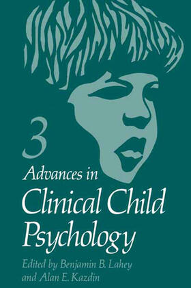 Lahey | Advances in Clinical Child Psychology | Buch | sack.de