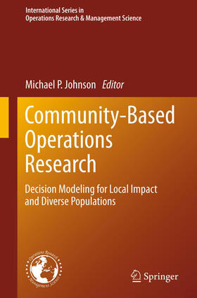 Johnson | Community-Based Operations Research | Buch | sack.de