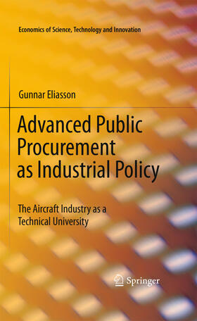 Eliasson | Advanced Public Procurement as Industrial Policy | Buch | sack.de