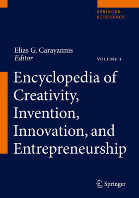 Carayannis | Encyclopedia of Creativity, Invention, Innovation and Entrepreneurship, 3 Teile | Buch | sack.de