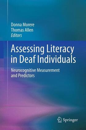 Morere / Allen | Assessing Literacy in Deaf Individuals | Buch | sack.de
