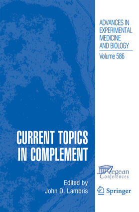 Lambris | Current Topics in Complement | Buch | sack.de
