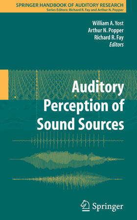 Yost / Fay / Popper   Auditory Perception of Sound Sources   Buch   sack.de