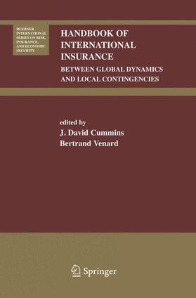 Venard / Cummins | Handbook of International Insurance | Buch | sack.de