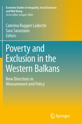 Ruggeri Laderchi / Savastano   Poverty and Exclusion in the Western Balkans   Buch   sack.de