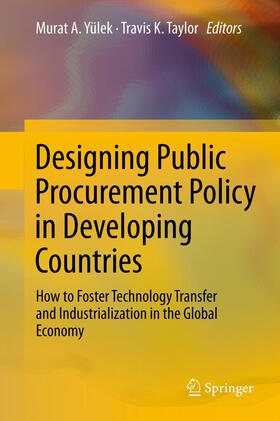 Yülek / Taylor | Designing Public Procurement Policy in Developing Countries | Buch | sack.de