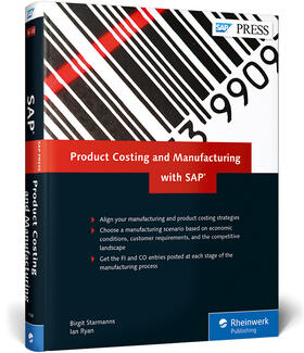 Ryan / Starmanns | Product Costing and Manufacturing with SAP | Buch | sack.de