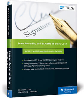 Hofmann / Lim / Mabborang | Lease Accounting with SAP: IFRS 16 and ASC 842 | Buch | sack.de