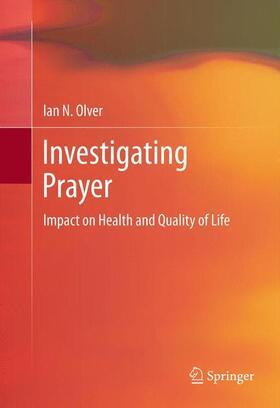 Olver | Investigating Prayer | Buch | sack.de
