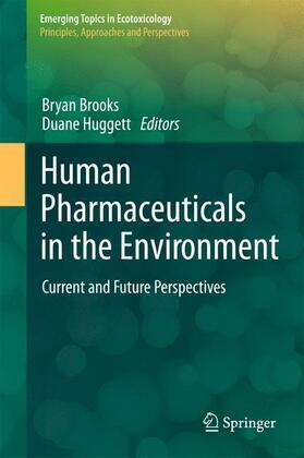 Brooks / Huggett   Human Pharmaceuticals in the Environment   Buch   sack.de