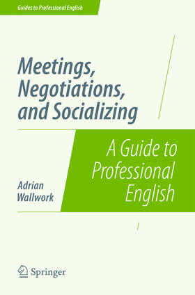 Wallwork | Meetings, Negotiations, and Socializing | Buch | sack.de