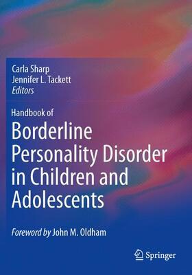 Sharp / Tackett   Handbook of Borderline Personality Disorder in Children and Adolescents   Buch   sack.de