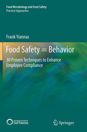Yiannas   Food Safety = Behavior   Buch   sack.de
